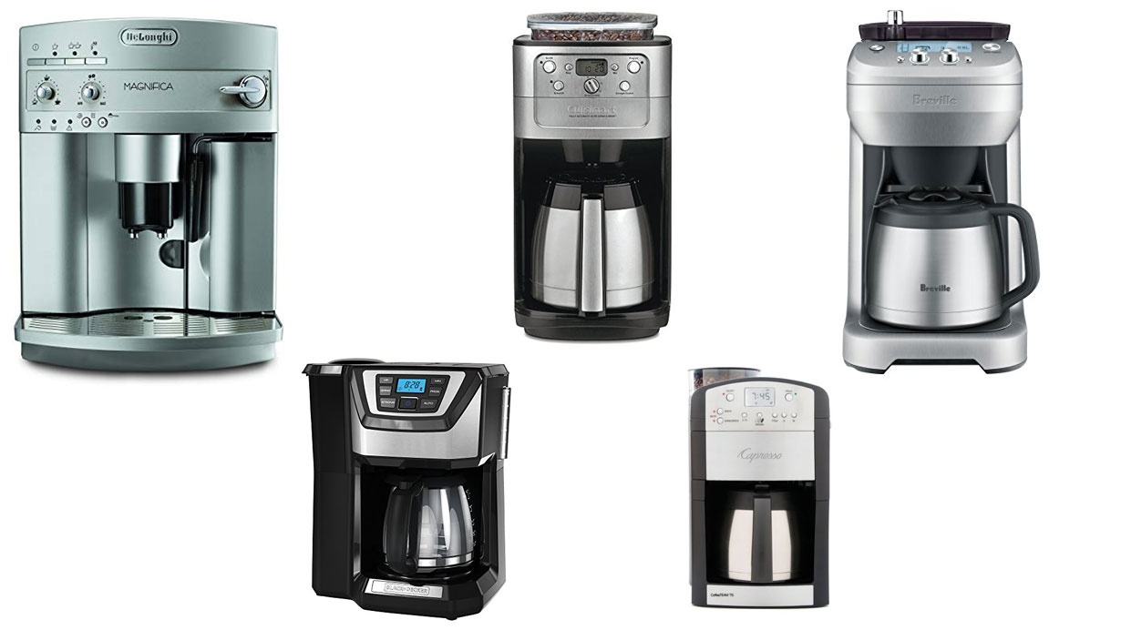 Best Coffee Makers with Grinder (Grind & Brew)