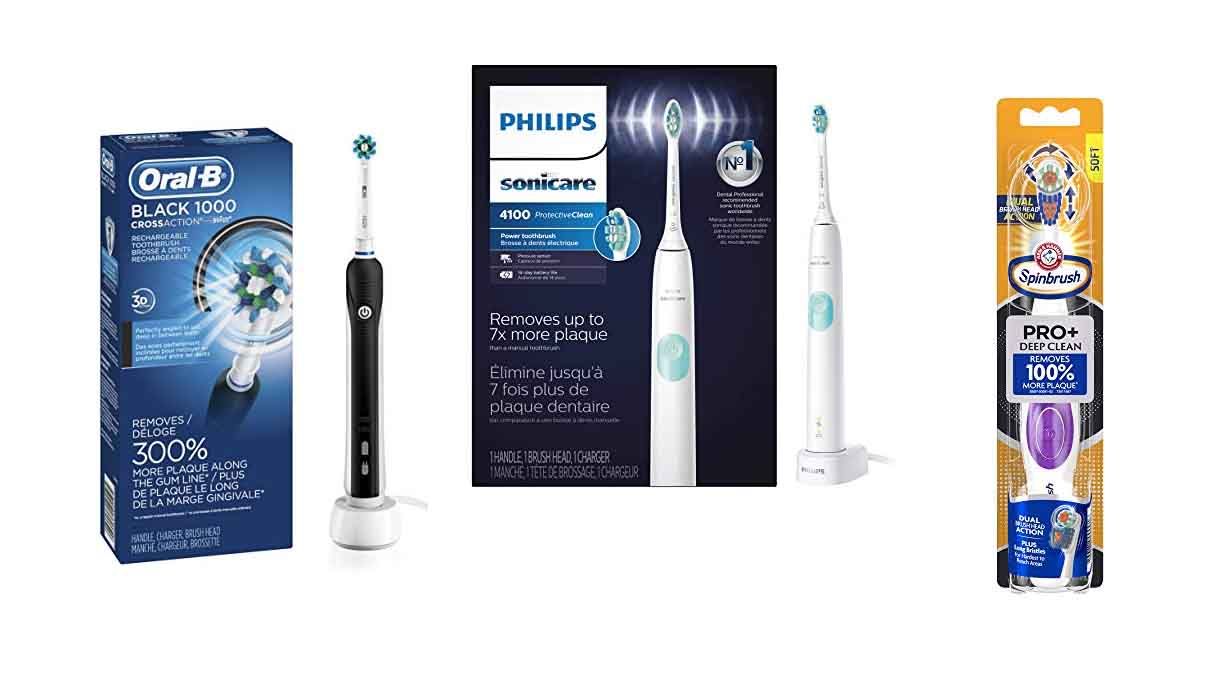 10 Best Electric Toothbrushs – Comparisons, Reviews & Buyer's Guide
