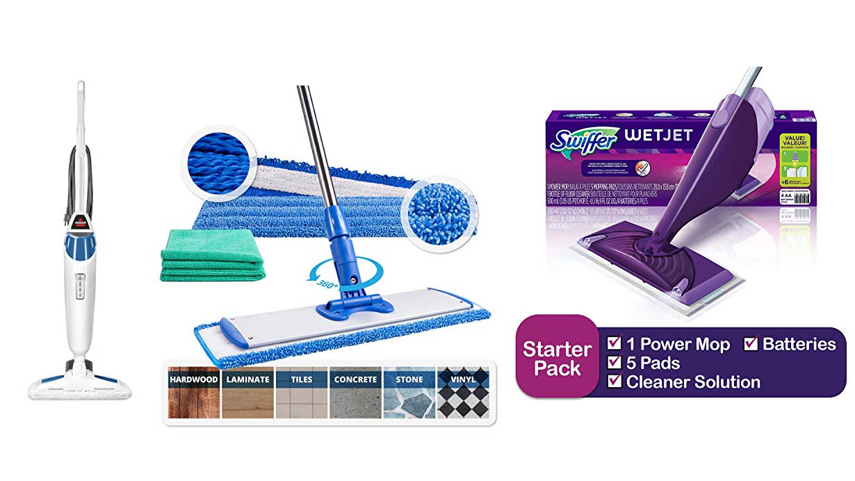 Best Mops Review – Top 5 Best Floor Mops for Easy Cleaning