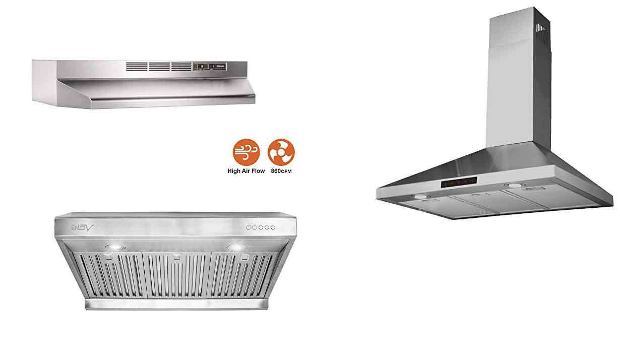 Best Range Hood for 2020 – Comparisons, Reviews & Consumer Reports