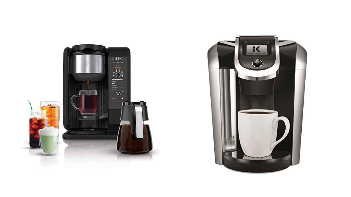 Ninja Coffee Bar vs Keurig – Review, Differences & Comparison