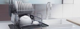 Best Dish Drying Rack Reviews 2020 - Top Plastic & Stainless Steel Dish Rack